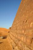 West face of Beg. N8 - Pyramids of Meroë
