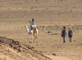 The only other tourists we spotted at Meroë