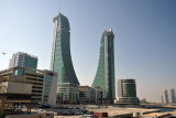 Bahrain Financial Harbour - built mostly on reclaimed land off Manama