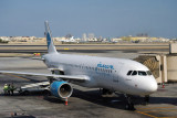 A320 of Kuwaiti low-cost Jazeera at Bahrain (9K-CAB)