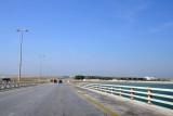 King Fahd Causeway crossing a Nasan Island, Bahrain