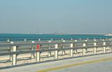 King Fahd Causeway spans a total of 25km