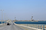 On the second bridge of the King Fahd Causeway