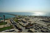The Bahraini side of the border island, King Fahd Causeway