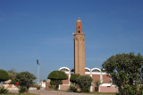 Mosque on the Bahraini side of the King Fahd Causeway island