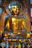 Left - Amitabha, the Past Buddha