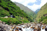 The river flowing south from Tibet into Nepal