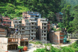 Barabise, the first large town we reach, a 3 hour journey from the border town of Kodari