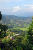 The road to Dhulikhel