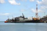 Mauritius Coast Guard flag ship, the MCGS Vigilant - Port Louis