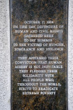 Mauritius Human Rights Monument, 2004, Port Louis