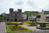 Cathedral of St. Louis and Cathedral Square, Port Louis