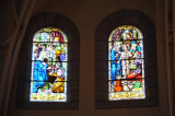 Stained glass windows -  St. Louis Cathedral