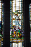 Stained glass window -  St. Louis Cathedral