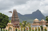 A Hindu Temple north of Port Louis