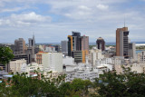 Downtown Port Louis from Fort Adelaide