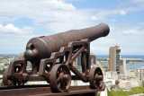 La Citadelle - a cannon aimed out to sea, Fort Adeliade