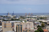 Container Terminal of Port Louis from the Citadel