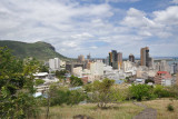 Port Louis from the Citadel, Fort Adelaide