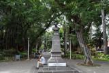 Monument to journalist Rémy Ollier (1816-1845), Jardin de la Compagnie, Port Louis