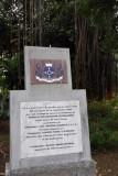 2002 rededication of the Jardin de la Compagnie, Port Louis