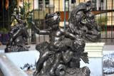 Fountain - Jardin de la Compagnie, Port Louis