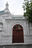 Queen Street entrance to the Jummah Masjid, Port Louis