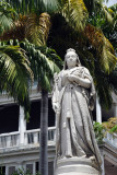 Statue of Queen Victoria, Government House, Port Louis