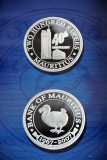 Mauritius Commemorative Coin - 40 Years Bank of Mauritius, 2007