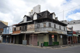 Old buildings on Rue Royale, Port Louis