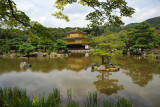 The pond with the Golden Pavilion, Kyoto