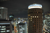 Night view from the Osaka Hilton - Daiwa House Group Tower