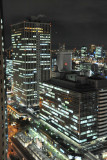 Night view from the Osaka Hilton