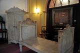 Marble bed, HEH The Nizam Museum