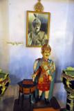 Portrait and ceramic image of the Nizam