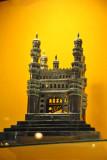 Silver model of Hyderabad's Carminar