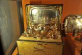 Silver picnic set, HEH The Nizam Museum