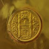 Gold Ashrafi of Hyderabad dated 1354 A.H.