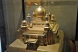 Silver model of Aza-Khana-E-Zahra presented by Ahmed Nawaz Jung