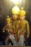 The Nizam with his two young sons