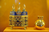 Gold gilded lighter presented by the Maharaja of Dholpur