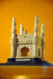 Ivory model of Hyderabad's Charminar