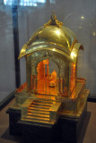 Gold modelof Jubilee Hall Throne Dias