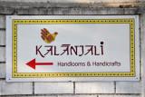 Kalanjali, upscale Indian handicrafts shop across from the Andhra Pradesh parliament