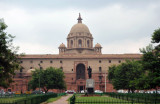 Indian Goverment Ministries Secretariat - south block from the south side