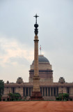 Presidential Palace (1912-1929) and Jaipur Column