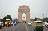Rajpath leading to the India Gate