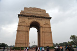 New Delhi's India Gate was modeled on the Arc de Triomphe