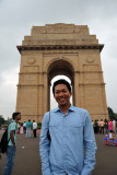 Dennis at the India Gate