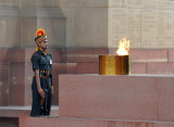 Indian Honor Guard with the Eternal Flame, India Gate